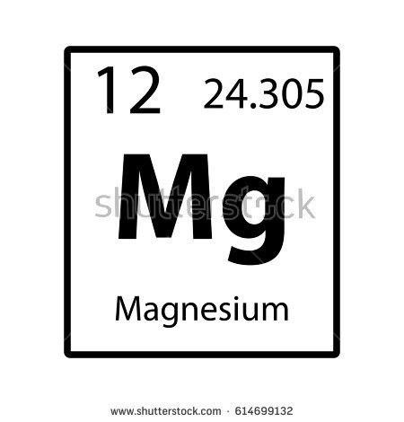 Magnesium Metal Stock Images, Royalty.