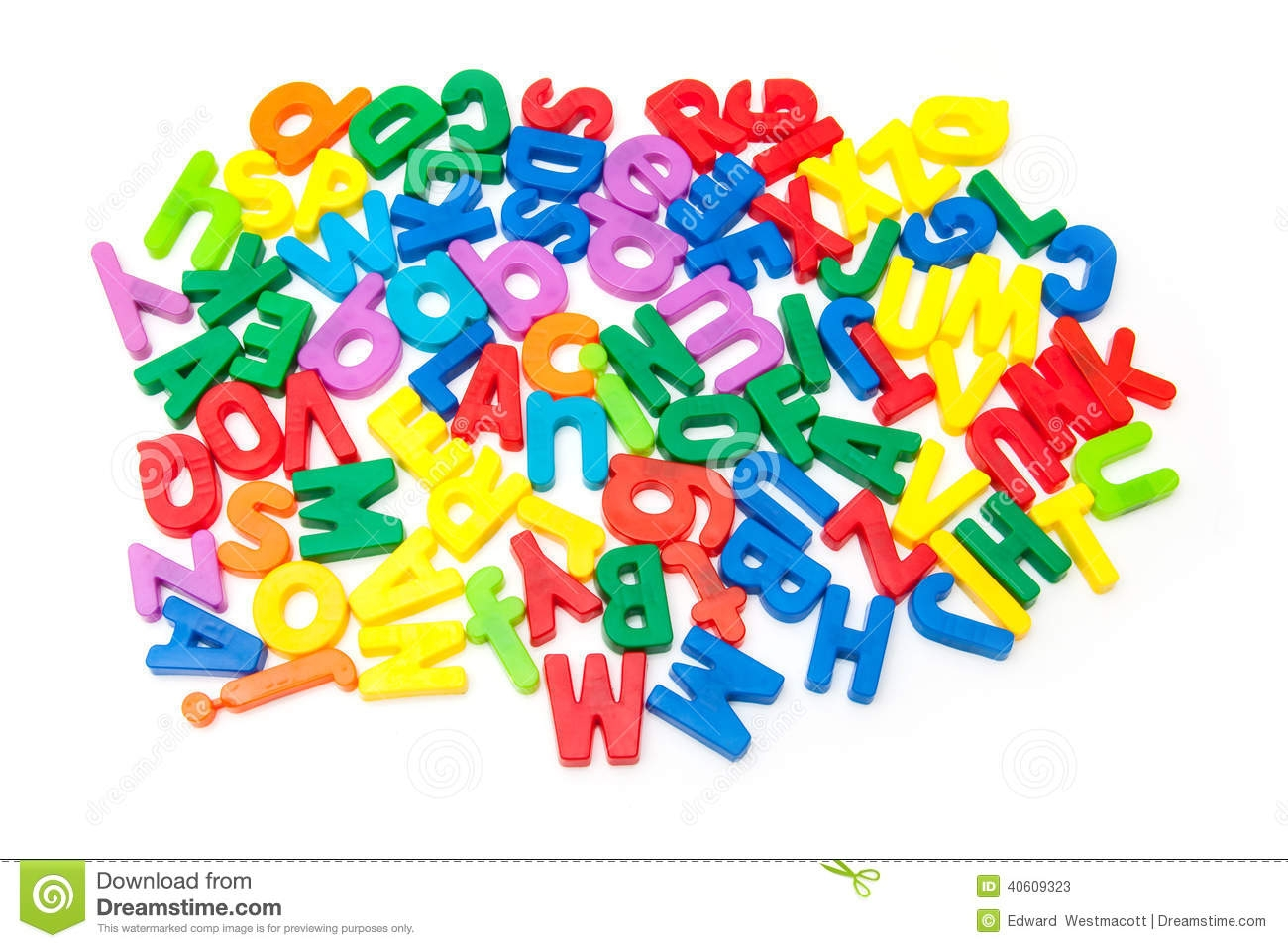 Magnetic Letter Clipart.
