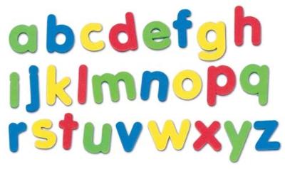 Magnetic Letter Clipart.
