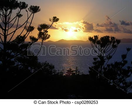 Stock Photos of Magnetic Sunrise.