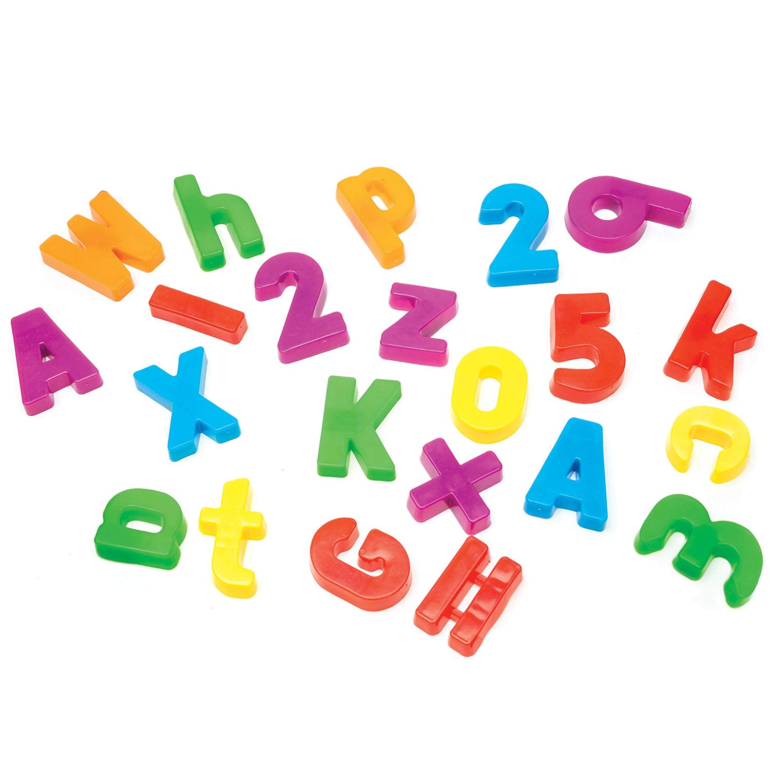 Learning Resources Magnetic Alphabet & Numbers (Does not come with a  magnetic board).