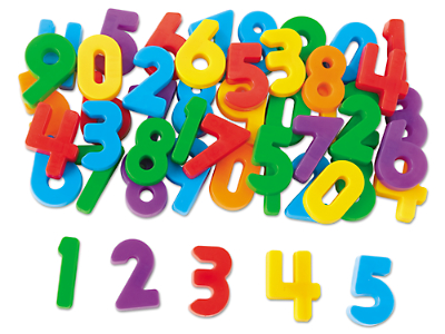 Magnetic Numbers at Lakeshore Learning.