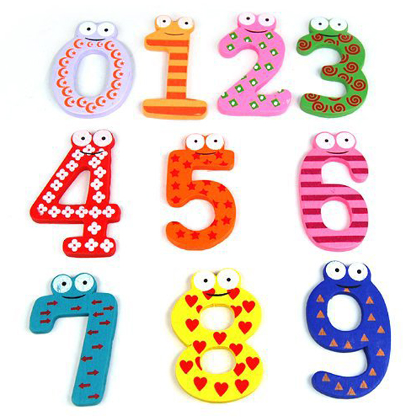 Wooden Magnetic Letters A.