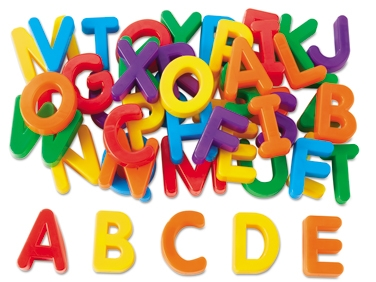 Magnetic Numbers Clipart.