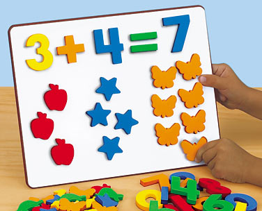 Magnetic Numbers & Counters at Lakeshore Learning.