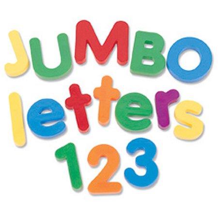 Jumbo Magnetic Numbers & Operations, Set of 36.