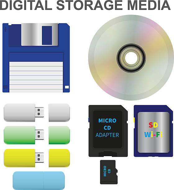 Magnetic Storage Clip Art, Vector Images & Illustrations.