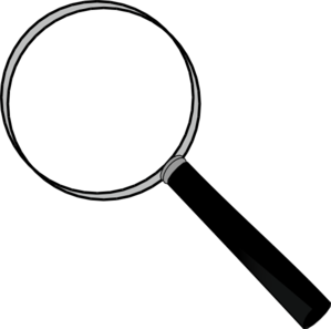 Magnification Clipart.