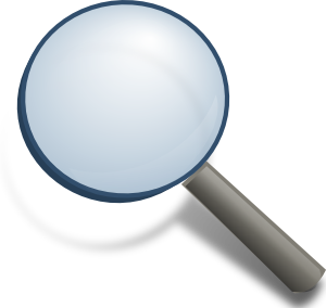 Magnifying Glass Clip Art at Clker.com.