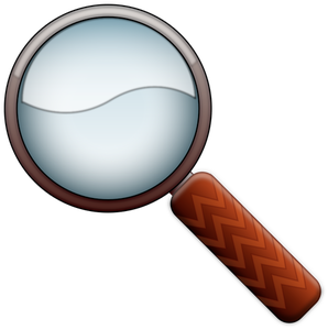 1162 magnifying glass clip art free.