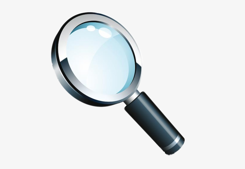 Magnifying Glass Vector Png.