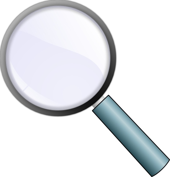 Free Magnifying Glass Clipart.