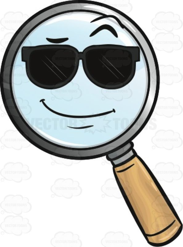 Cool Looking Magnifying Glass Emoji #amplify #blowup.