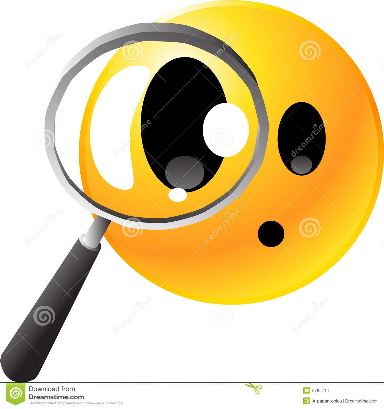 Emoticon Smiley Face Stock Photo.