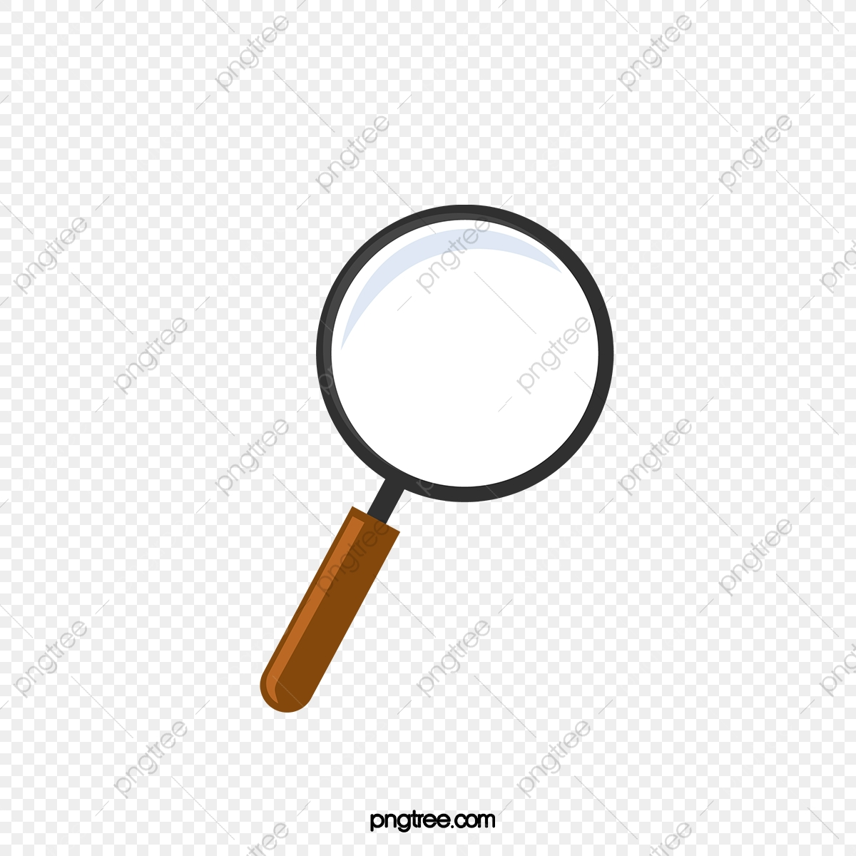 Magnifying Glass Vector Material, Magnifier, Vector.