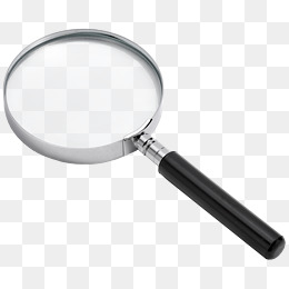 Magnifying Glass Decoration, Magnifier, #29230.