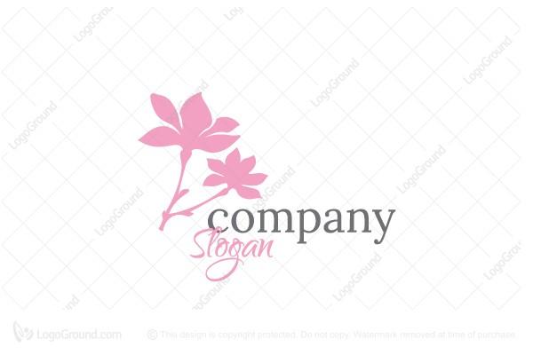 Exclusive Logo 107685, Magnolia Logo.