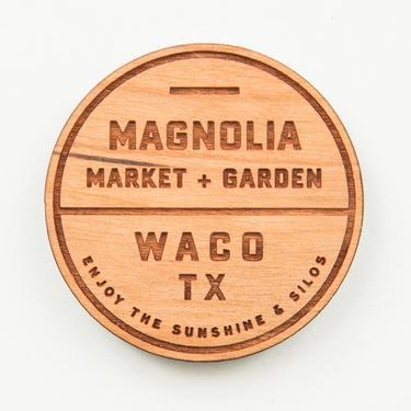 Magnolia Market and Garden Magnet.
