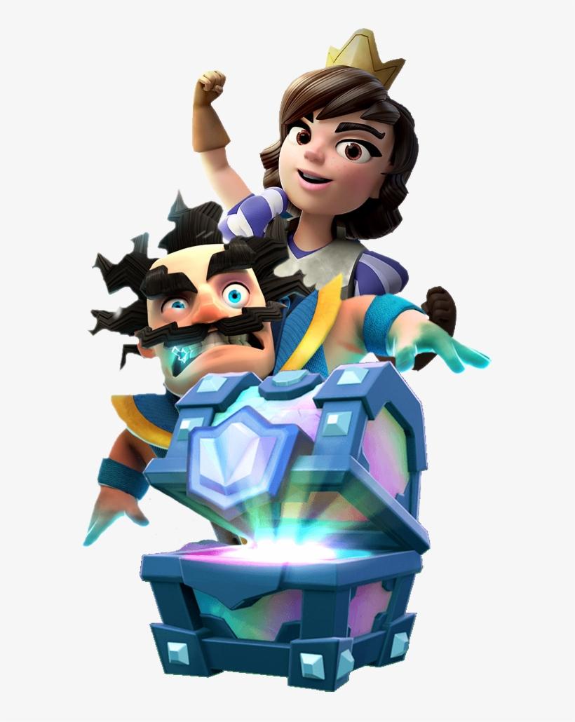 Legendary Princess Wizard Chest Clash Royale, Clash.
