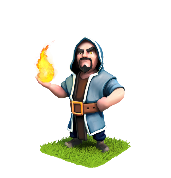 Mago Png Clash Royale Vector, Clipart, PSD.