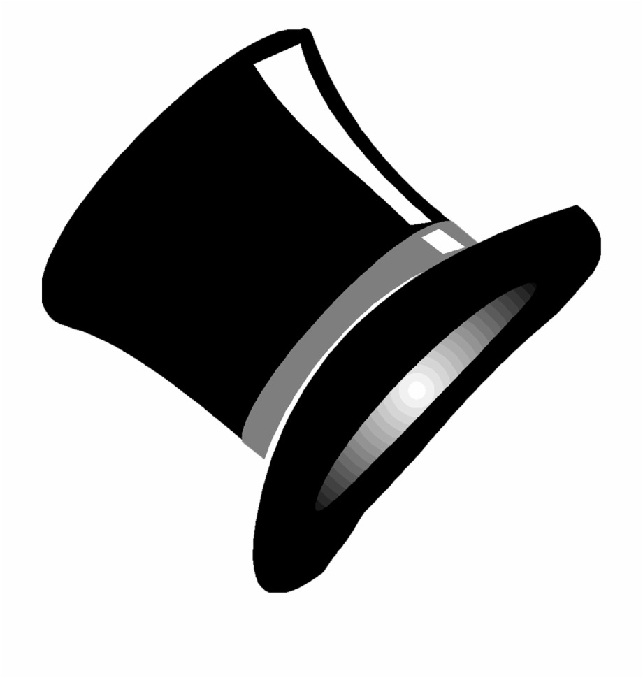 Top Hat Magic Black Magician Png Image.