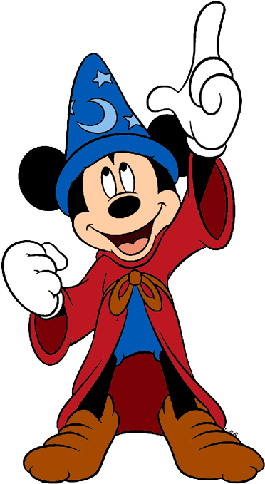 Download HD Mickey Mouse Clipart Sorcerer.