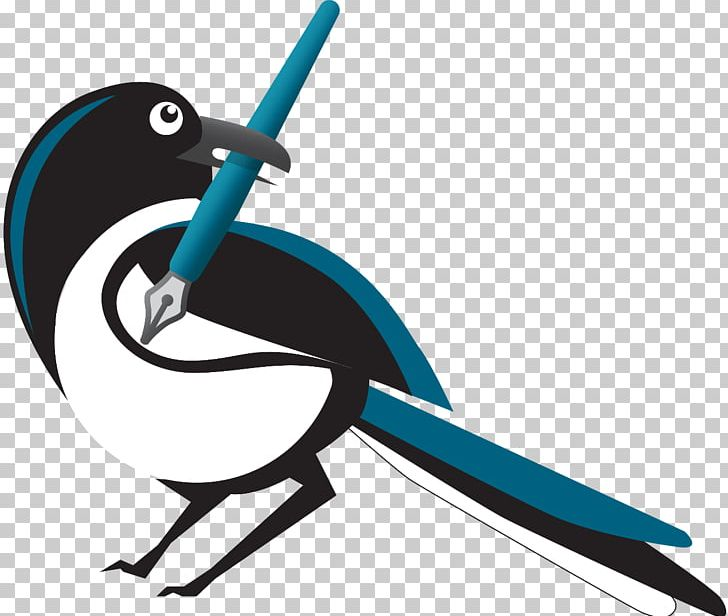 Writing Magpie Bird Email PNG, Clipart, Animals, Artwork.