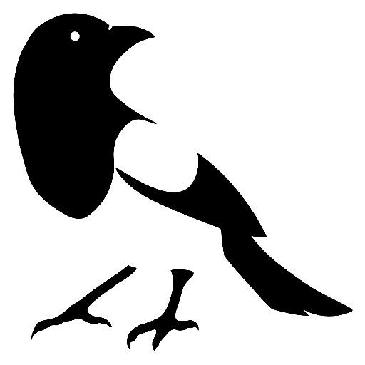 Image result for magpie clipart.