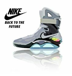 Nike air mag clipart.