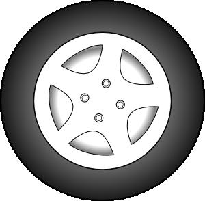 wheels car clipart #16
