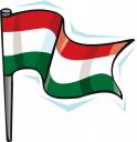Hungary Flag Clipart.
