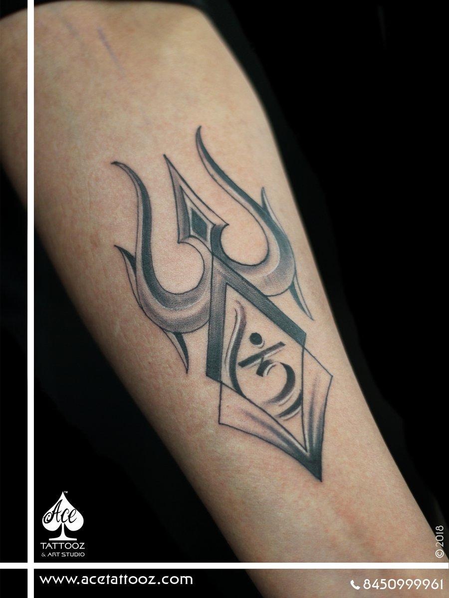 Trishul Om Tattoo Designs Trishul Om Tattoo Designs.