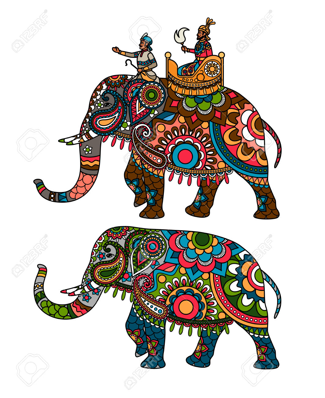 137 Maharaja Stock Vector Illustration And Royalty Free Maharaja.