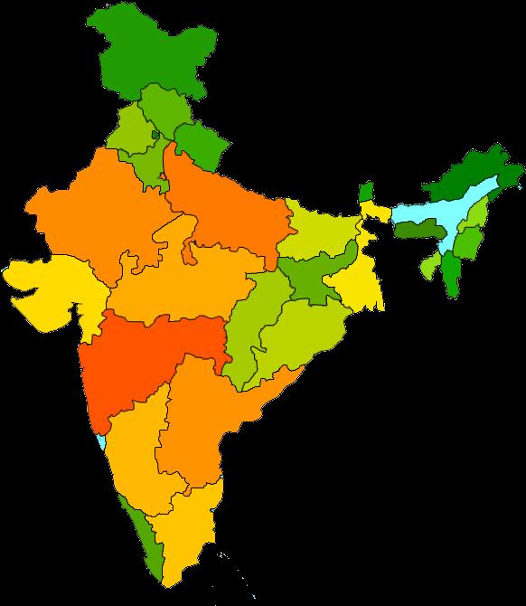 India Map Transparent Images Png.