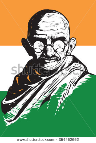 Mahatma Gandhi Stock Images, Royalty.