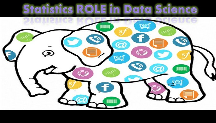 Statistics ROLE in Data Science.