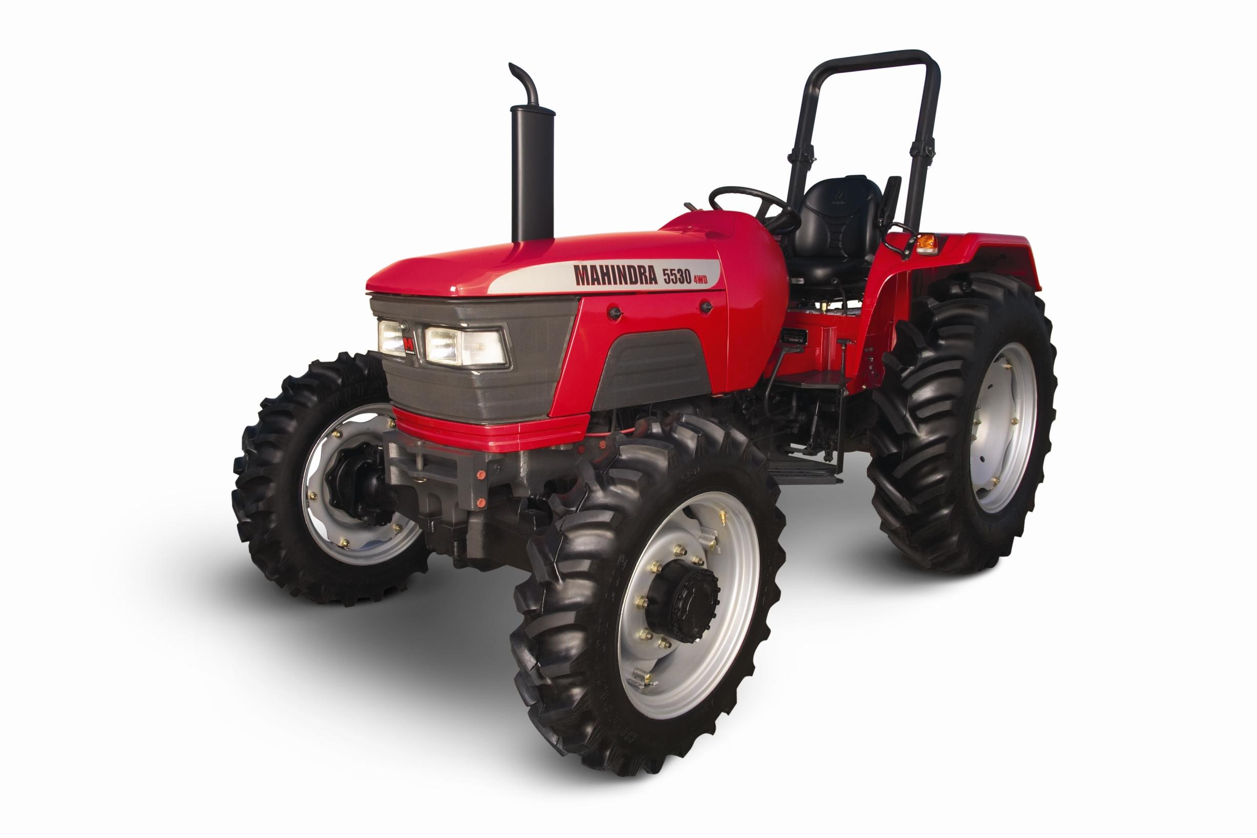 Mahindra Tractors.
