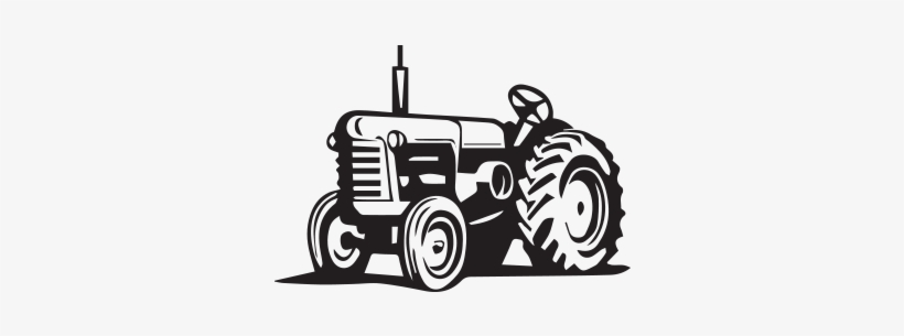 Tractor Drawing Antique.
