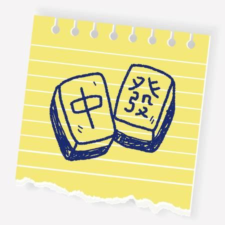 427 Mahjong Stock Vector Illustration And Royalty Free.