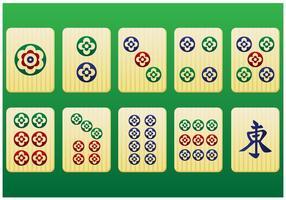 Mahjong Free Vector Art.