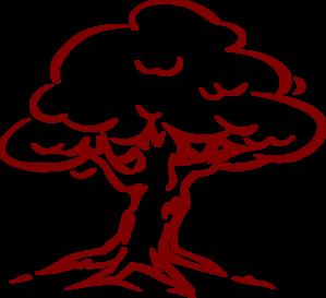 Burgundy Oak Tree Clip Art at Clker.com.