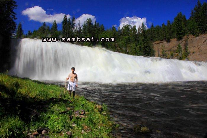 Sylvia Falls Trail.