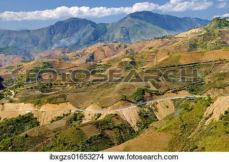 "Stock Photo of ""Mai Chau Valley, Vietnam, Asia"" ibxgzs01653274."