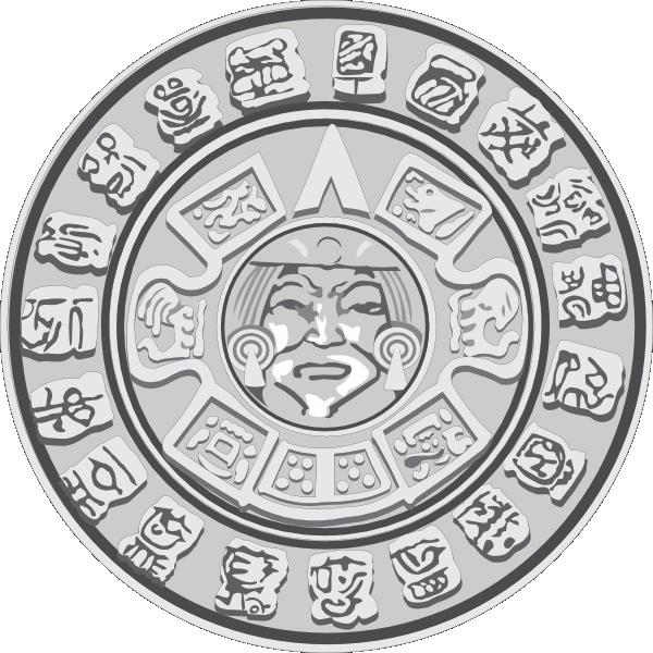 Mayan Calendar Clipart.