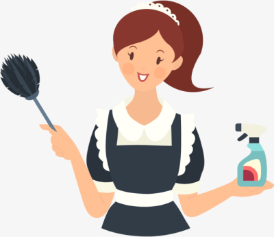Maid PNG.
