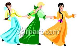 Maidens Dancing.