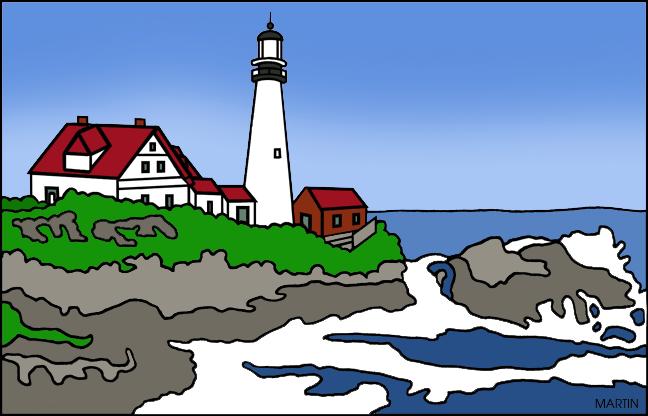 Maine Clipart.