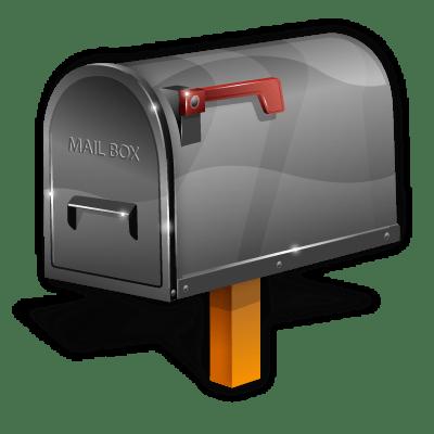 Mailbox Clipart transparent PNG.