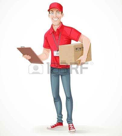 779 Postal Boy Stock Vector Illustration And Royalty Free Postal.