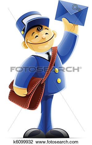 Mail carrier Clipart Vector Graphics. 1,494 mail carrier EPS clip.